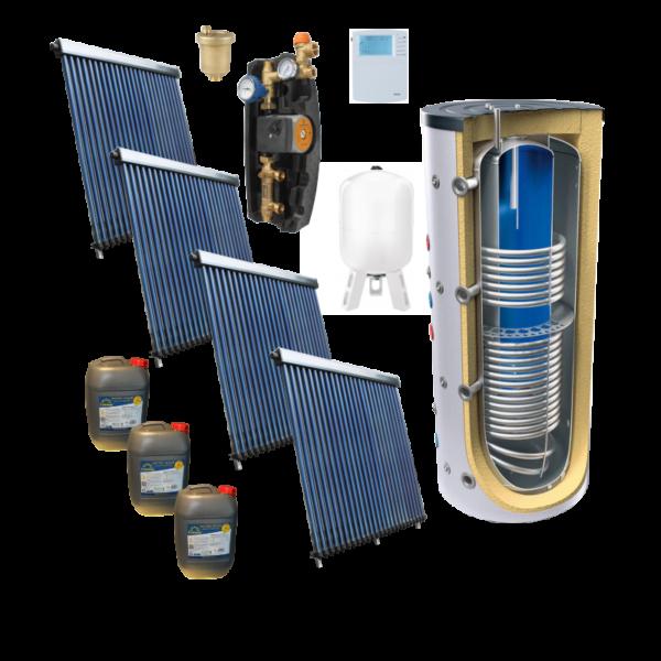 Pachete solare - aport la incalzire