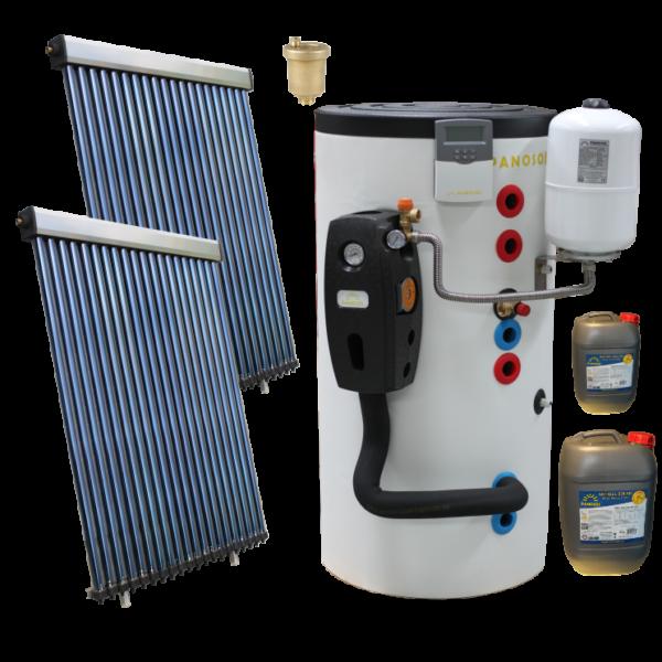 Pachete solare cu boiler